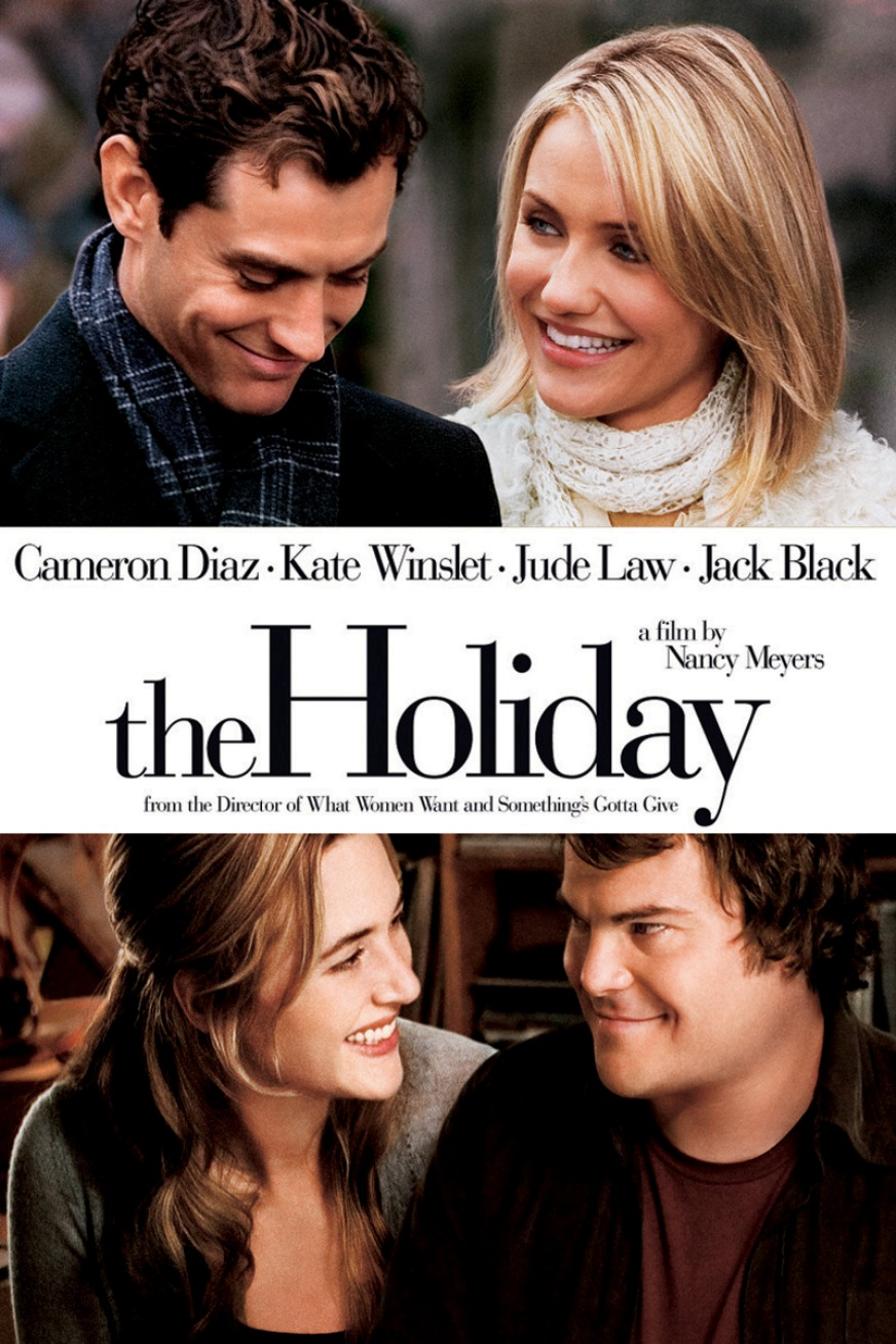 DVD cover of The Holiday movie
