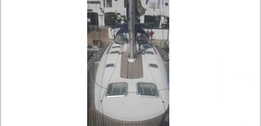NoStress yacht taken from the foredeck